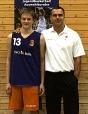 Leonard Laxa & Bundestrainer Bauermann