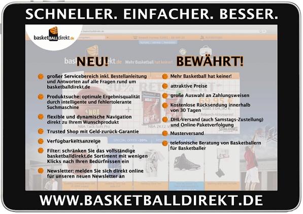 2012 basketballdirekt relaunch 2