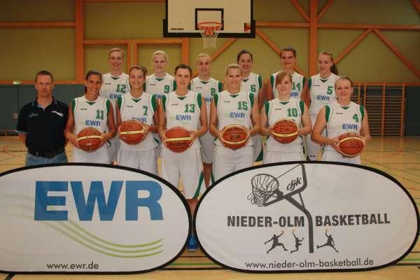 Teamfoto Oberliga Damen 2013-14 EWR
