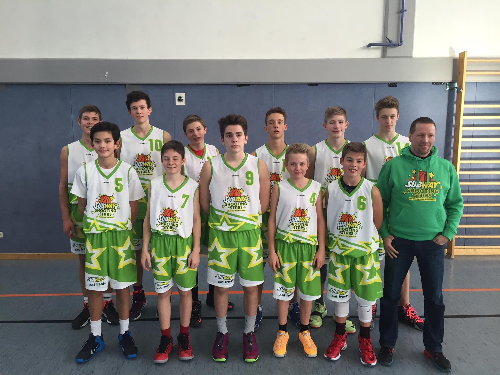 2016 01 DJK Nieder-Olm U16-Rheinhessen-Pfalz-Meisterschaften Team 1
